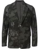 The Editor Floral Pattern Jacket - Lyst