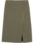 Jonathan Saunders Vida Printed Silk And Wool-Blend Pencil Skirt - Lyst