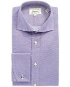 Ted Baker Classic Fit Geo Dress Shirt - Lyst