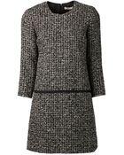 Bouchra Jarrar Tweed Dress - Lyst
