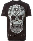 Philipp Plein 'Skull' T-Shirt - Lyst