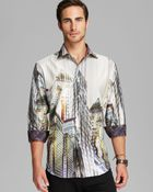 Robert Graham The Harding Woven Sport Shirt  Classic Fit - Lyst