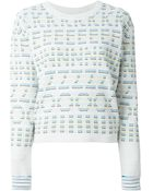 Kenzo Embroidered Sweater - Lyst