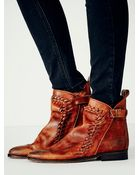 Free People Womens Left Bank Ankle Boot - Lyst