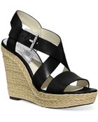Michael Kors Michael Giovanna Platform Wedge Sandals - Lyst