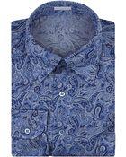 Stefano Ricci Paisley Shirt - Lyst