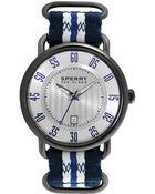 Sperry Top-sider Mens Striper Blue and White Nato Woven Strap 45mm - Lyst