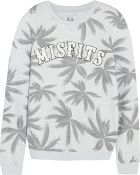 Zoe Karssen Misfits Printed Cotton-Blend Jersey Sweatshirt - Lyst