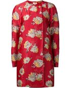 Brock Collection Floral Print Coat - Lyst