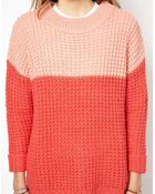 Pepe Jeans Chunky Cable Knit Jumper - Lyst