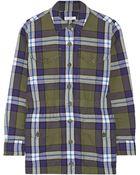 Equipment Monroe Plaid Cotton Jacket - Lyst
