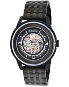 Breil Orchestra Automatic Skeleton Watch - Lyst