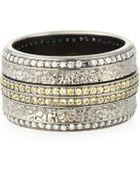 Stephen Webster Mens Sapphire & Diamond Pave Ring - Lyst