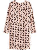 H&M + Long-Sleeved Dress - Lyst