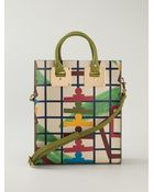Sophie Hulme Mini Printed Structured Tote - Lyst