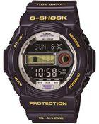 G-shock Baby G Mens Tide Graph Watch in Purple - Lyst