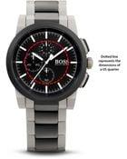 Hugo Boss 1512958 | Chronograph Stainless Steel Bracelet Strap Neo Dial Watch - Lyst