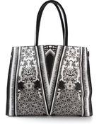 Roberto Cavalli Patterned Tote Bag - Lyst