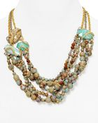 """Alexis Bittar Elements Imperial Multi Strand Statement Necklace 20.5"""" - Lyst"""