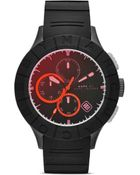 Marc By Marc Jacobs Buzz Track Chronograph Watch, 44Mm - Lyst