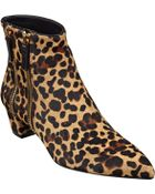 Nine West Tunic Pointed Toe Booties - Lyst