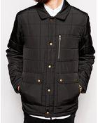 Dr. Denim Quilted Jacket - Lyst