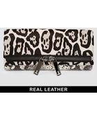 Ted Baker Lionne Large Zip Exotic Clutch Bag - Lyst