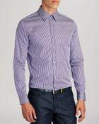 Ted Baker Satoon Stripe Button Down Shirt - Regular Fit - Lyst