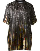 Givenchy Sequins Printed Top - Lyst