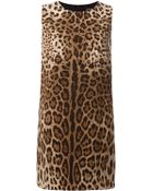 Dolce & Gabbana Shift Dress - Lyst