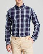Gant Rugger Indigo Twill Button Down Shirt - Slim Fit - Lyst