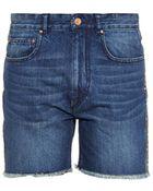 Etoile Isabel Marant Prato Denim Shorts - Lyst