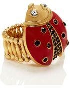 Kate Spade Little Ladybug Ladybug Ring - Lyst