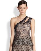 Stella McCartney Lace One-Shoulder Top - Lyst