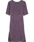 Marni Printed Sateen Twill Dress - Lyst