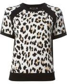 Joseph Leopard Jacquard Sweater - Lyst