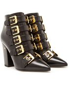 Laurence Dacade Buckle Front Ankle Boots - Lyst