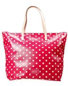 RED Valentino Shopping Pelle Pois 32X33X19 Cm - Lyst