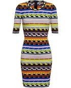 Christopher Kane Knit Bodycon Dress - Lyst