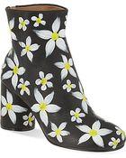 Maison Margiela No Tabi Floral Print Boots - For Women - Lyst