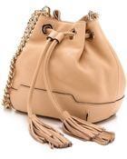 Rebecca Minkoff Mini Lexi Bucket Bag - Biscuit - Lyst