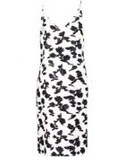 Balenciaga Printed Silk-Blend Dress - Lyst