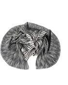Yuh Okano Black Butterfly Stripes Scarf - Lyst