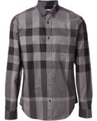 Burberry Brit Patterned Shirt - Lyst