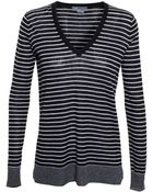 Vince Striped Jumper - Lyst