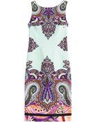 Etro Paisley Printed Dress - Lyst
