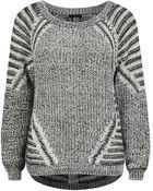 Dex Multi Stitch Sweater - Lyst