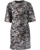 Giambattista Valli Reptile Print Dress - Lyst