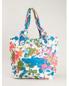 Marc By Marc Jacobs Medium 'Pretty Nylon Paint Blob' Tote - Lyst