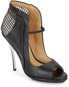 L.a.m.b. Skylar Cutout Leather Pumps/Black - Lyst